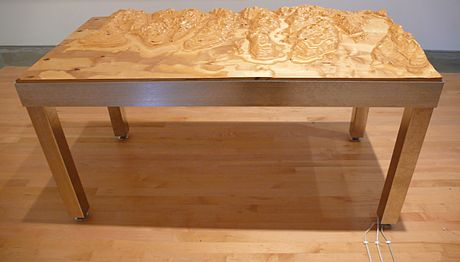 Germaine Koh - Topographic Table