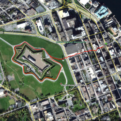 Halifax Citadel track